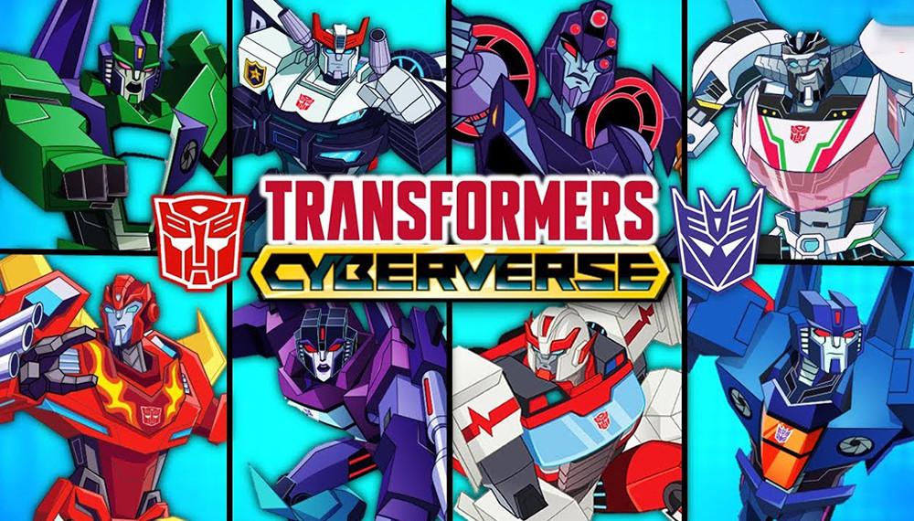 Transformers : Cyberverse S01E01
