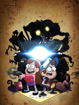 آبشار جاذبه - Gravity Falls - ,انیمیشن,کمدی, فیلم سینمایی , سینما ,  دانلود فیلم  - محصول آمریکا - -