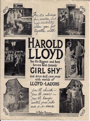 هارولدلوید در دختر خجالتی - Girl Shy