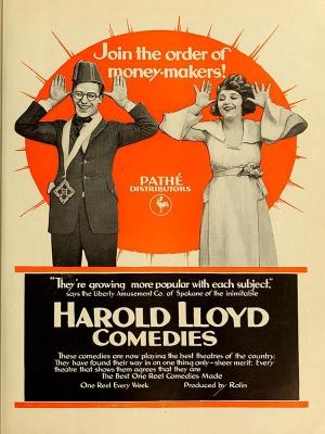هارولدلوید در دیوانه سینما - movie crazy