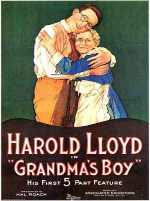 هاروید لوید در پسر مادر بزرگ - Grandma's Boy