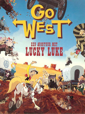Go West : A Lucky Luke Adventure