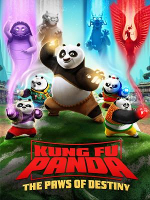 پاندای کونگ فو کار : پنجه های سرنوشت - قسمت 5 : مشتی پر از گیاه - Kung Fu Panda : The Paws of Destiny E05