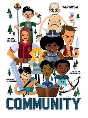 Community S01E18