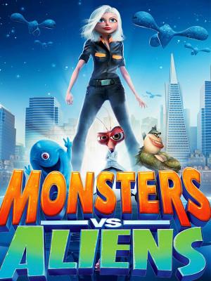 هیولاها علیه بیگانگان - Monsters vs Aliens