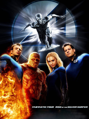 Fantastic 4 : Rise of the silver surfer