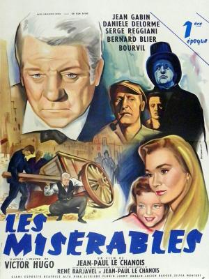 بینوایان - Les Misérables - بی نوایان , بینوایان , ویکتور هوگو , ژان والژان , ژان گابن , Les Misérables,خانوادگی,اجتماعی, فیلم سینمایی , سینما ,  دانلود فیلم  - محصول فرانسه - - - سال 1958