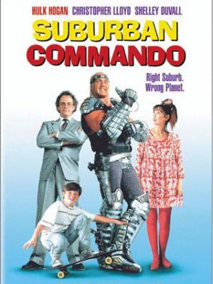 کماندوی فضایی - Suburban Commando