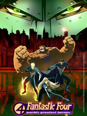 چهار شگفت انگیز - قسمت دوم - Fantastic Four: World's Greatest Heroes