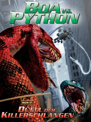 بوآ علیه پیتون - Boa vs. Python