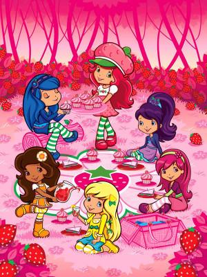 داستان های توت فرنگی - توت فرنگی قصه گو - Strawberry Shortcake