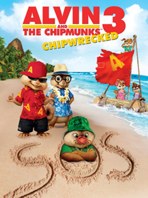 آلوین و سنجاب ها 3 - Alvin and the Chipmunks: Chipwrecked