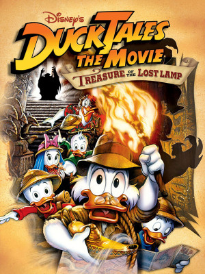 داستان اردک و چراغ جادو - DuckTales the Movie: Treasure of the Lost Lamp