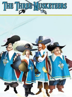 سه شمشیرزن - The Three Musketeers: An Animated Classic