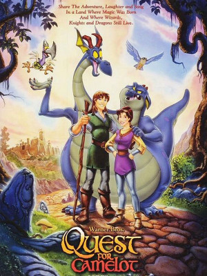 شمشیر جادویی - The Magic Sword: Quest for Camelot