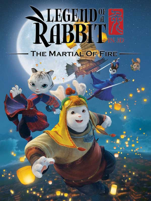 افسانه خرگوش - Legend of a Rabbit: The Martial of Fire