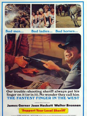 از کلانتر محلی خود حمایت کنید - Support Your Local Sheriff - از کلانتر محلی خود حمایت کنید , ازکلانترمحلیخودحمایتکنید , Support Your Local Sheriff,کمدی,اکشن, فیلم سینمایی , سینما ,  دانلود فیلم  - محصول آمریکا - - - سال 1969