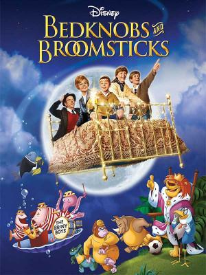 تخت خواب سحرآمیز - Bedknobs and Broomsticks