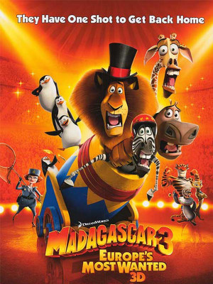 ماداگاسکار 3 - Madagascar 3: Europe's Most Wanted