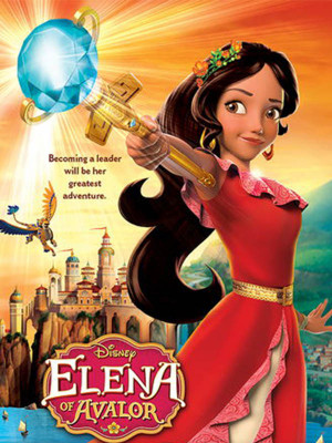 Image result for ‫النا و شهر آوالور Elena of Avalor‬‎