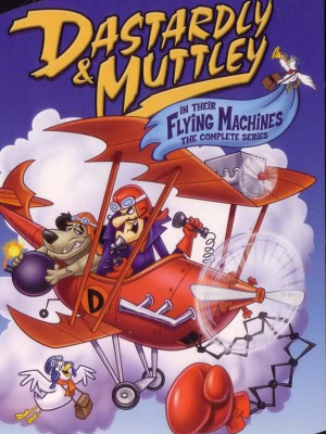 Dastardly and Muttley in Their Flying Machines 1