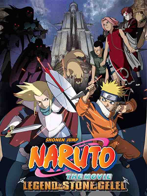 Naruto the Movie 2 : Legend of the Stone of Gelel