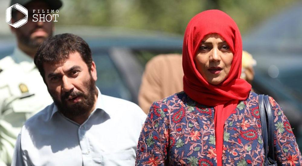 شبنم مقدمی و سیامک انصاری در فیلم زهرمار
