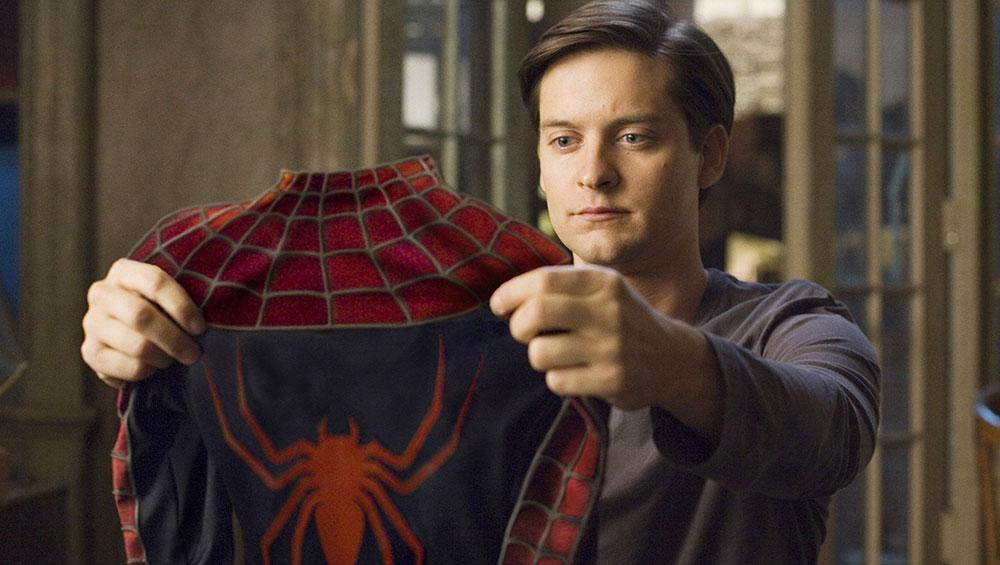 توبی مگوایر در فیلم «مرد عنکبوتی» محصول ۲۰۰۲
