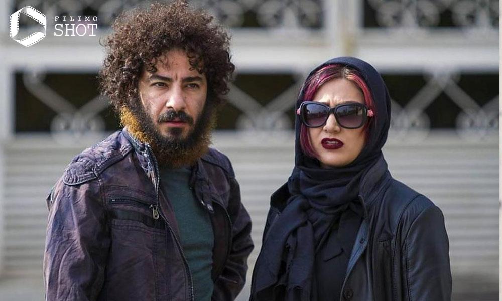 باران کوثری و نوید محمدزاده در نمایی از فیلم لانتوری