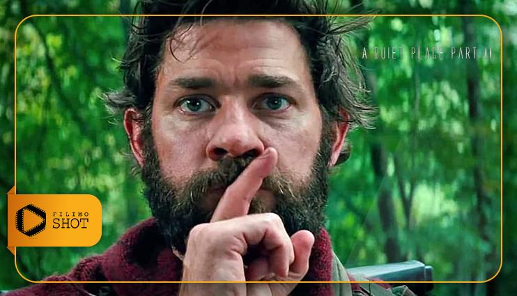 جان کرازینسکی در فیلم یک مکان ساکت ۲